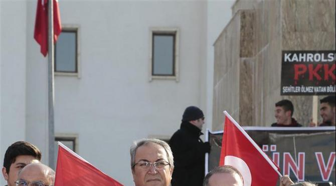 Nevşehir'de teröre lanet, şehitlere dua