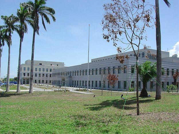 Gana'daki gerçek büyükelçilik binası.