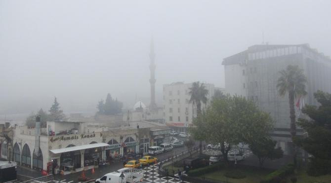 Şanlıurfa'da sis nedeniyle uçak seferleri iptal edildi