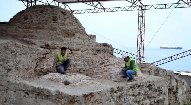 Gelibolu'da 579 yıllık hamam restore ediliyor