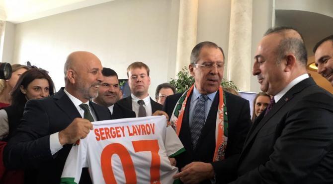 Dışişleri Bakanı Çavuşoğlu, Rus Bakan Lavrov ile görüştü (3)