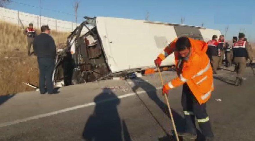 Son dakika... Afyonkarahisar'da otobüs kazası: 35 yaralı