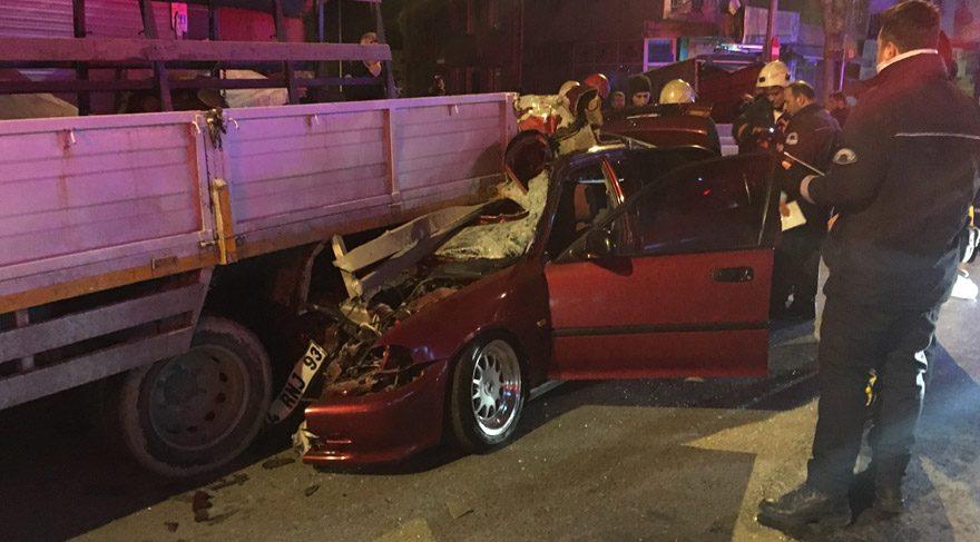 Bahçelievler'de alkollü sürücü dehşet saçtı: 1 ölü