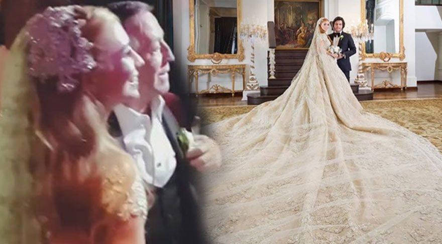 Ali Ağaoğlu'nun kızı Sena Ağaoğlu evlendi