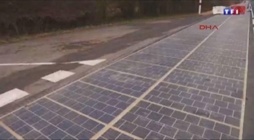 Dünyanın ilk 'elektrik üreten yolu' Fransa'da hizmete girdi