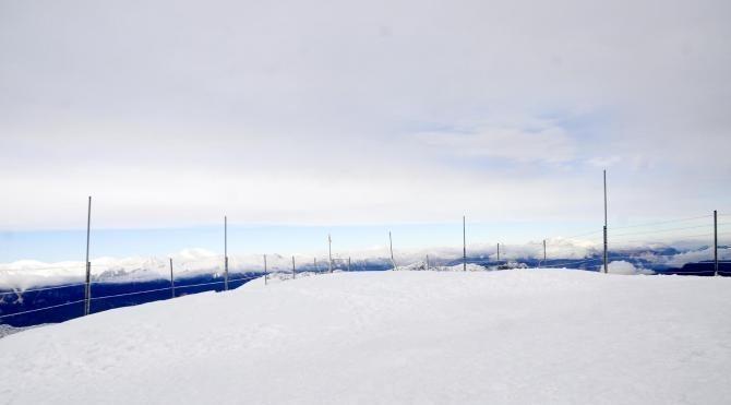 Tahtalı Dağı'na mevsimin ilk karı yağdı