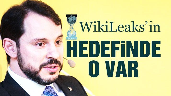 Wikileaks, Berat Albayrak'a ait olduğunu iddia ettiği mailleri yayınladı