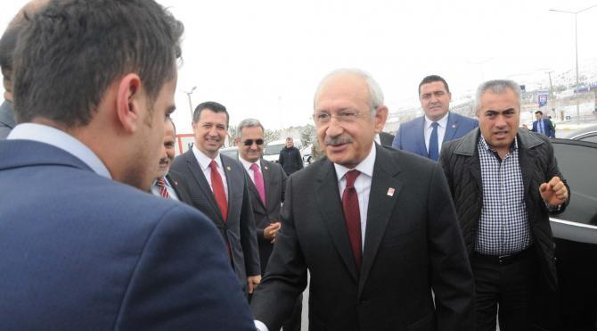 Kılıçdaroğlu Sivas'a geldi