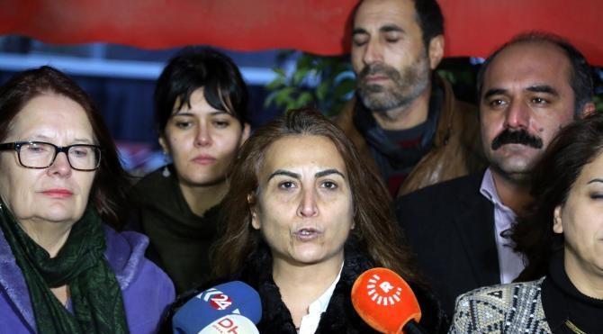 HDP heyeti, cezaevinde tutuklu bulunan Fiğen Yüksekdağ'ı ziyaret etti