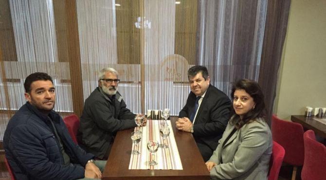 Talabani'nin Ankara Temsilcisi Demirtaş, Türk ve Kışanak'ın ailelerini ziyaret etti