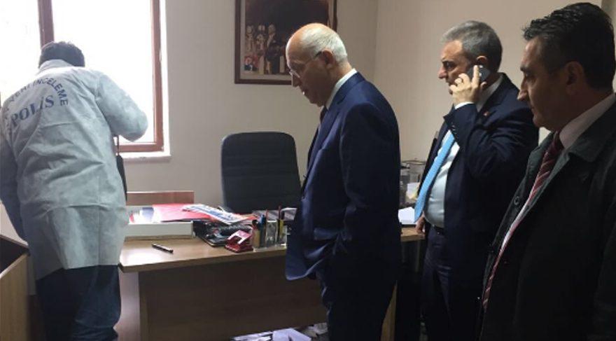 CHP Ankara il binasında 'esrarengiz' olay