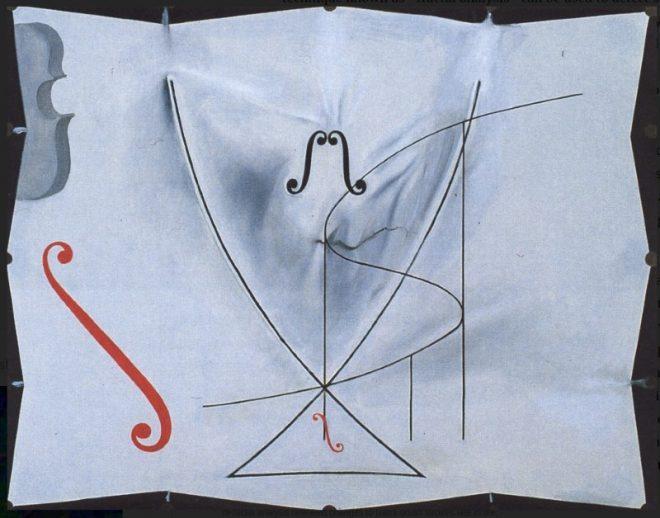 Fraktal analizi, Dali'nin ömrünün sonundaki fırça vuruşlarındaki değişiklikleri ortaya koydu.
