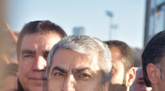 CHP İl başkanı Canpolat ifade vermek için adliyede