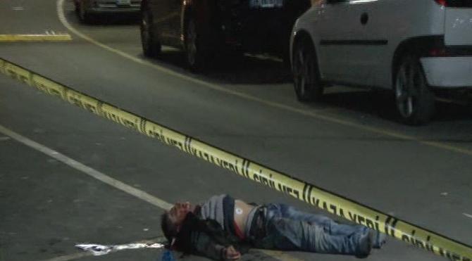 Pendik'te sokak ortasında cinayet