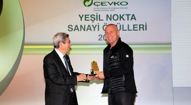 Yeşil Nokta Basın Ödlülleri'nde 'En İyi Haber Ajansı Ödülü' Doğan Haber Ajansı'na