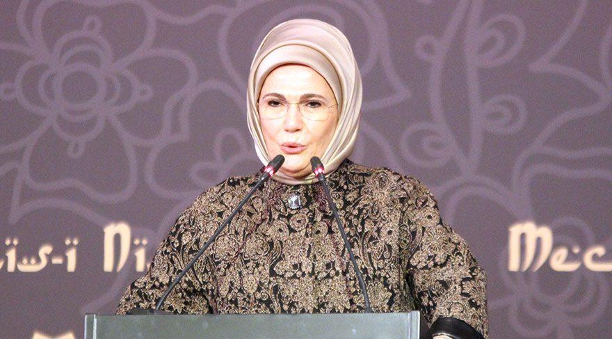 Emine Erdoğan: Erken evliliklerin üzerinde titizlikle duruluyor