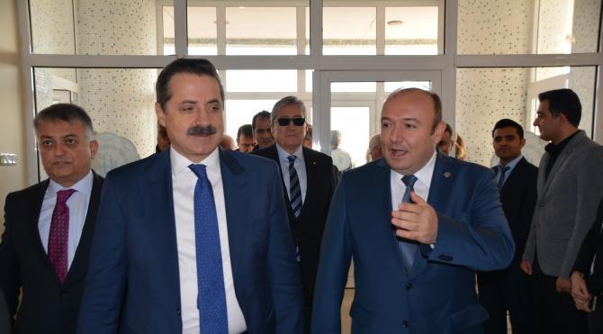 Bakan Çelik'ten Onyedi Eylül Üniversitesi'ne 22 bin dekarlık arazi sözü