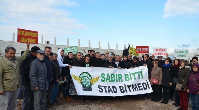 Akhisar'da CHP'den stat protestosu