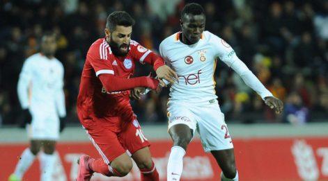 Galatasaray'a Tuzlaspor şoku