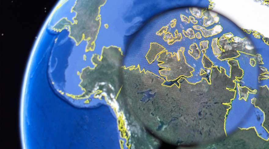 Google Earth'ün gizli özellikleri