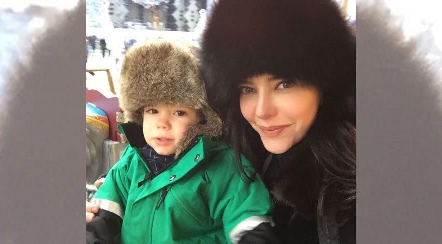 Hande Ataizi'nin yeni yıl rotası Moskova oldu