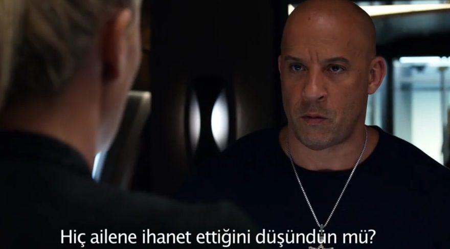 Hızlı ve Öfkeli 8 Türkçe altyazılı ilk fragmanı: Dom, aileye sırtını dönüyor! (The Fate Of The Furious)