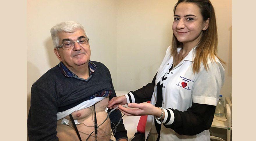 'Canlı bomba' değil, kalp hastası