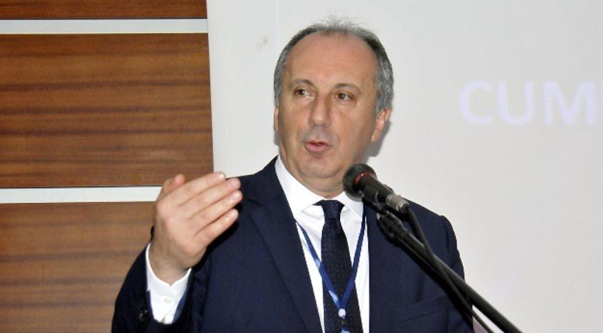 CHP'li İnce: 'Adından utanarak başkan değil Cumhurbaşkanı diyorsunuz'