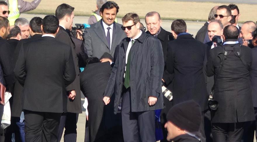 Erdoğan, Katar Emiri'ne Trabzon'u tanıttı