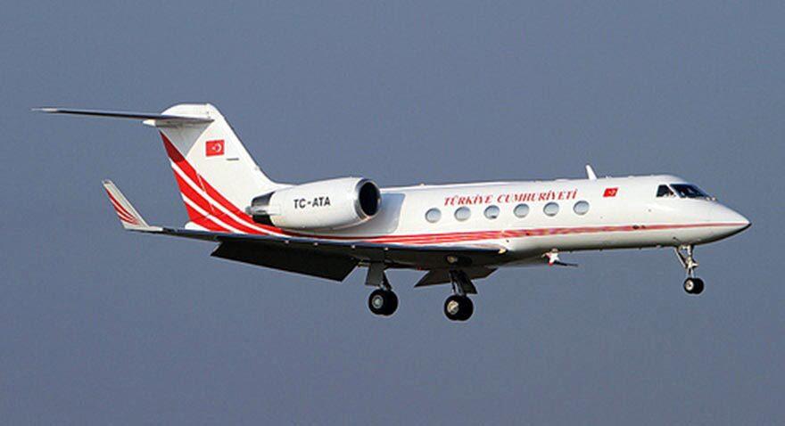 FOTO:DHA - İddanemeye göre; ATA uçağı gizlilik gereği THY-8456 koduyla 01.43'te İstanbul'a gitmek üzere havalandı.