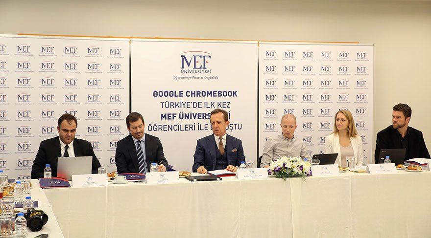 Google Chromebook Türkiye'de ilk kez MEF'te