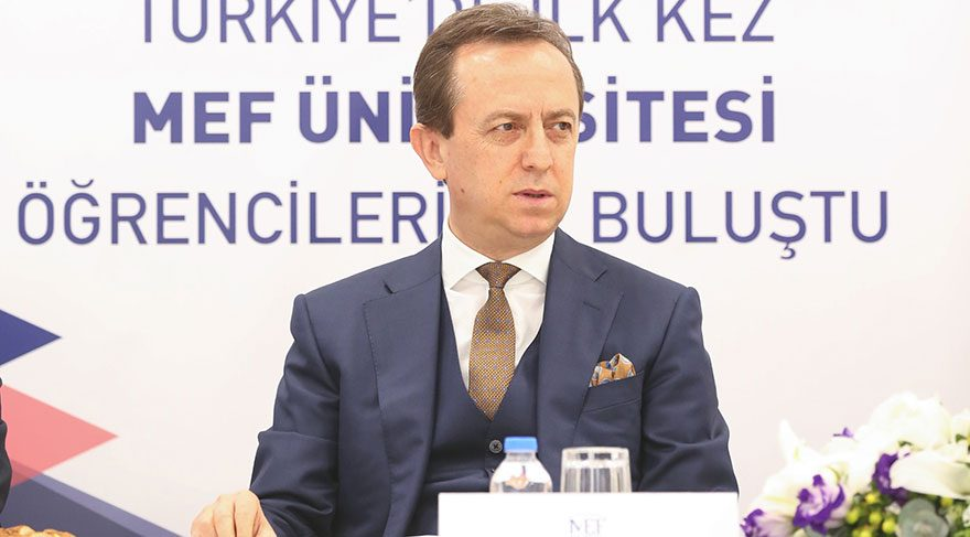 MEF Üniversitesi Rektörü Prof. Dr. Muhammed Şahin