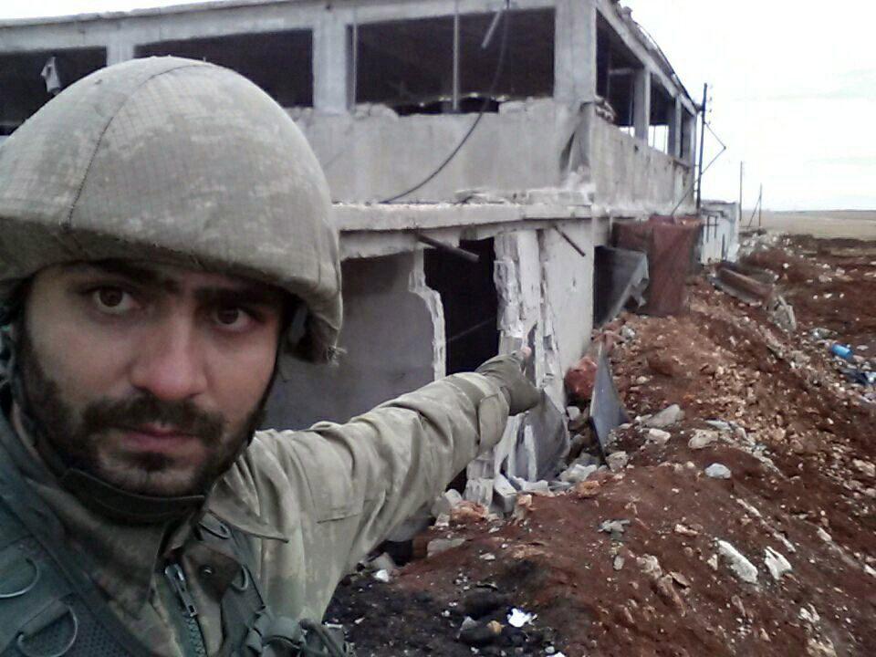 Şehit Osman Çelik, El Bab'ta katıldığı operasyonu böyle görüntülemişti.