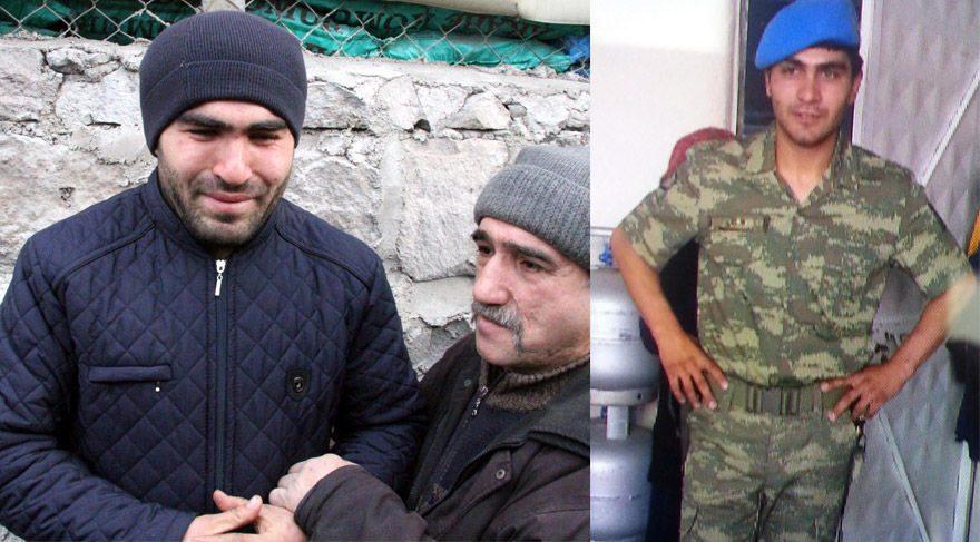 Şehit Uzman Çavuş Osman Çelik'in ağabeyi acı haberi duyunca gözyaşlarına boğuldu.