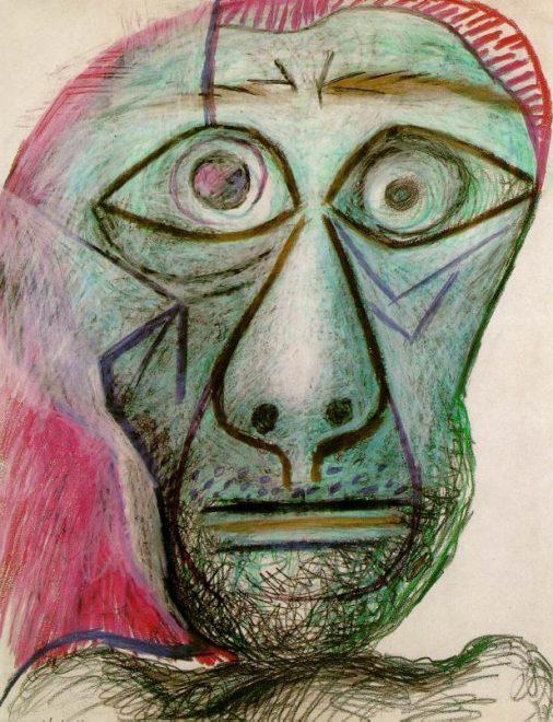 Pablo Picaso'nun zamanla fraktal imzasındaki değişiklikler nörodejeneratif hastalıklı sanatçılar tarafından üretilen fraktallarla aynı deseni göstermedi