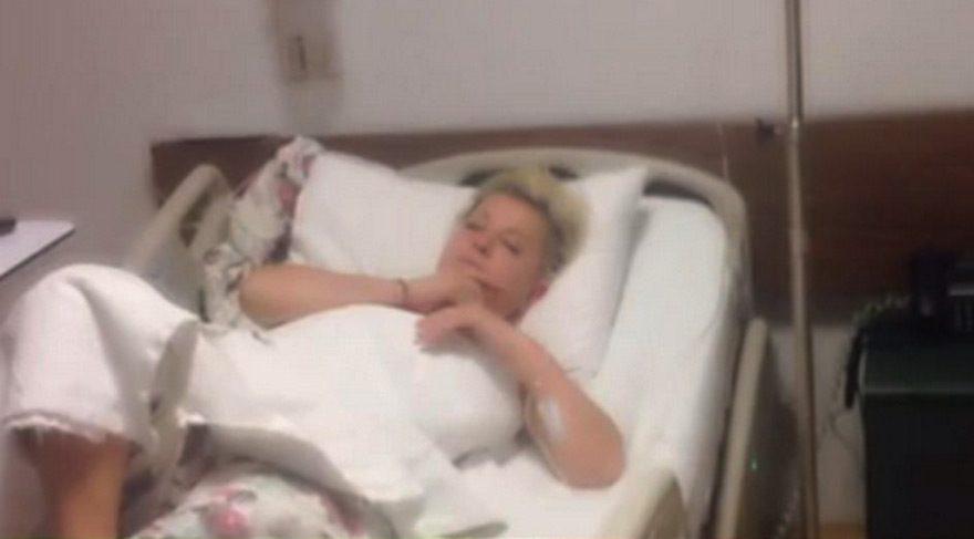 Sevim Egesoy, apne hastalığı nedeniyle hastaneye kaldırıldı