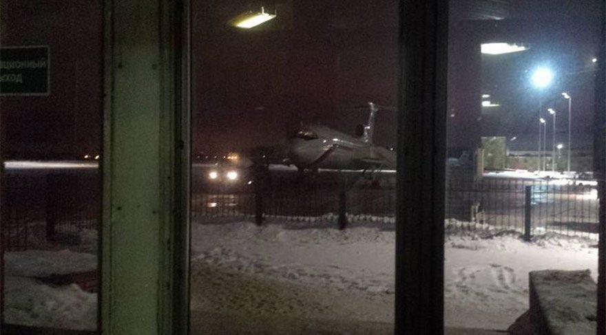 Karadeniz'e düşen Rus uçağının son fotoğrafı