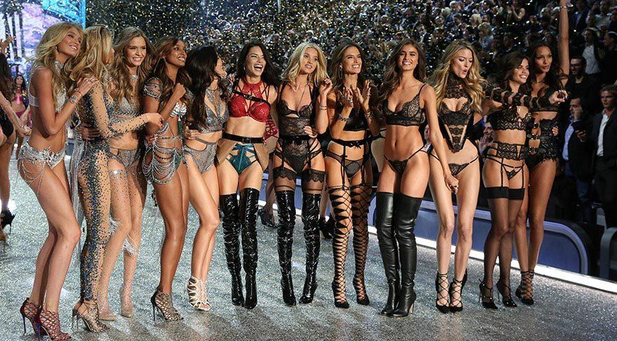 Victoria's Secret Moda Şovu'nda melekler büyüledi