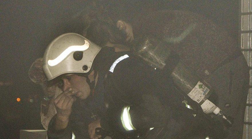 Antalya'da AVM'de yangın paniği!