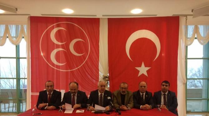 MHP Genel Başkan Yardımcısı Durmaz : Hedef Türkiye'dir