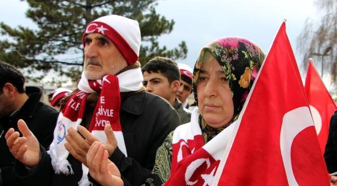 Sivaslılar, Sarıkamış şehitleri için yürüdü