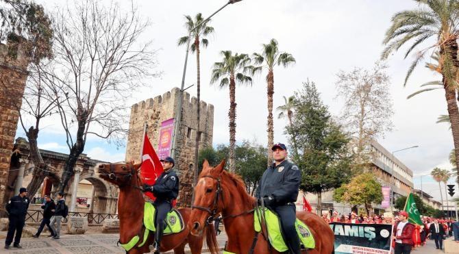 Sarıkamış şehitleri Antalya'da anıldı