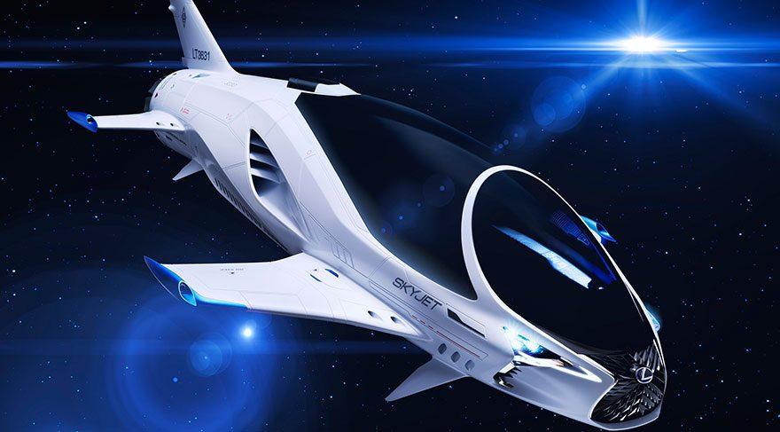 Lexus'tan uzay aracı!