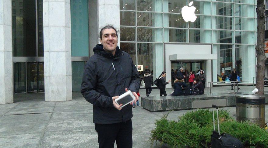 iPhone 7 Plus almak için bir günlük New York yolculuğu