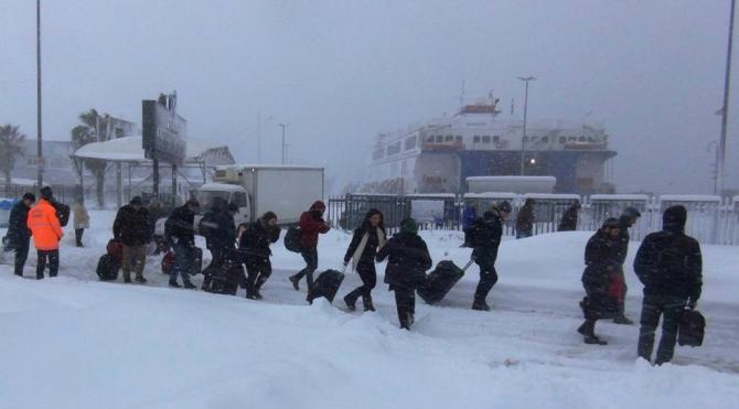 Bandırma Bursa karayolunda araçların geçişine kontrollü izin veriliyor (2)