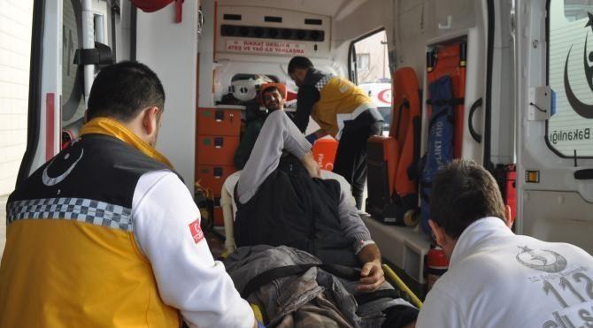 Piliç tesisi çatısı tadilat sırasında çöktü 1 ölü 3 yaralı