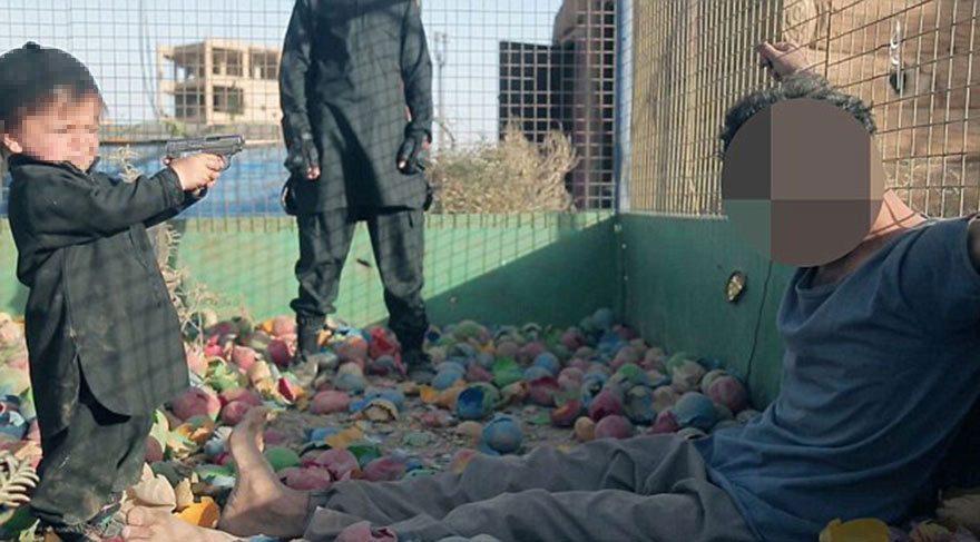 IŞİD, çocuklara kafa kestirdi