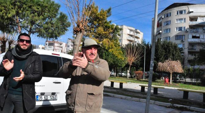 İzmirli motorcular, adliye önünde şehit polis Fethi Sekin'i andı