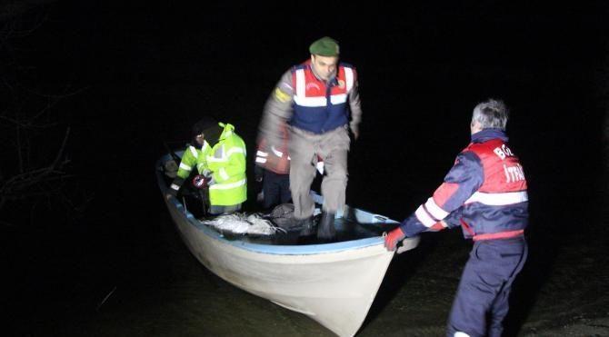 Mengen'de tekne alabora oldu 2 kişi kayboldu