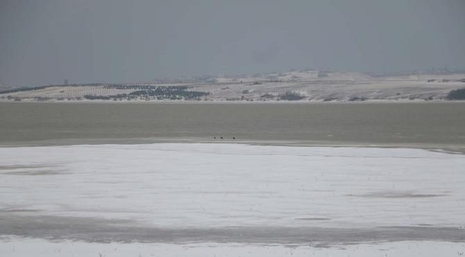 İstanbul buz tuttu